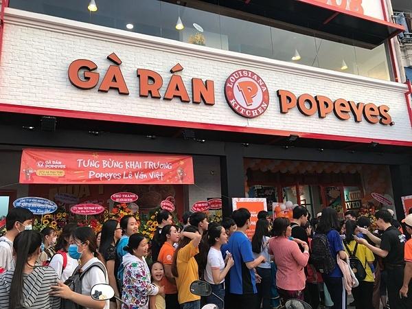 Mới đây, Popeyes Việt Nam đã nhận giải thưởng Top Operator cho thị trường có kết quả vận hành vượt trội trong khu vực châu Á - Thái Bình Dương.