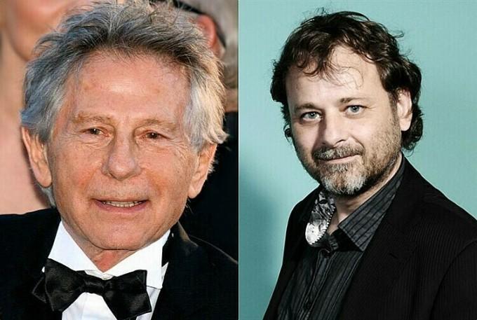 Hai đạo diễn Roman Polanski và Christophe Ruggia.