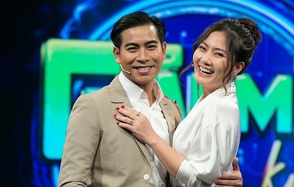 Vợ chồng Ngọc Lan - Thanh Bình.