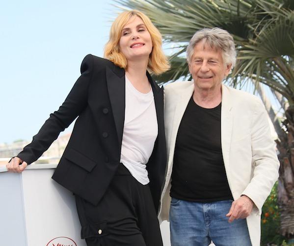 Roman Polanski cùngvợEmmanuelle Seigner (Ảnh: Dreamstime).