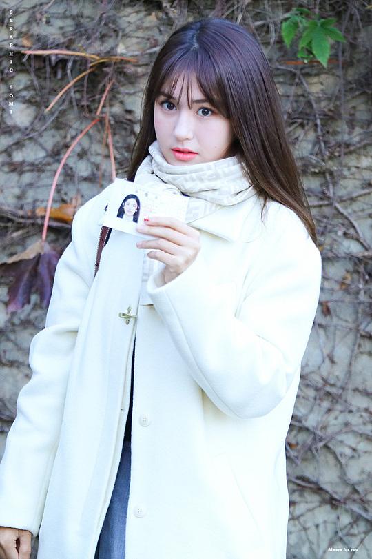 Jeon Somi quyết tâm đạt kết quả tốt trong kỳ thi.