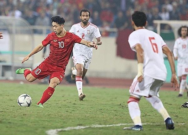 Công Phượng chơi lấn lướt ở hiệp 2 nhưng chưa ghi được bàn thắng.
