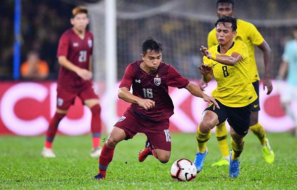 Chanathip là điểm sáng trong trận đấu mờ nhạt của Thái Lan tối 14/11.