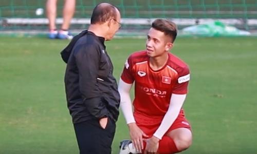 HLV Park dặn dò riêng các học trò trước trận gặp Thái Lan