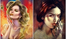 Tranh chân dung 12 cung hoàng đạo theo phong cách tả thực