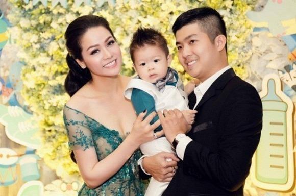 Vợ chồng Nhật Kim Anh thời còn hạnh phúc.