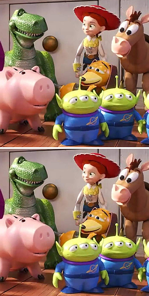 Fan Disney thử tìm điểm khác biệt - 3