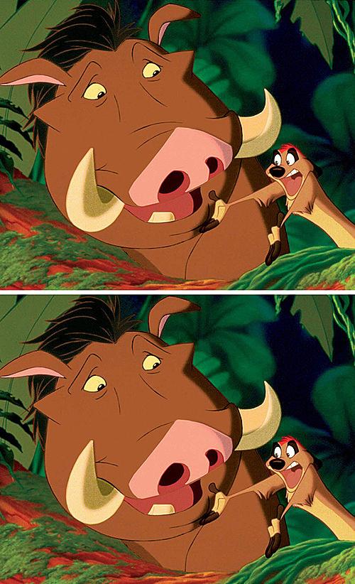 Fan Disney thử tìm điểm khác biệt - 8