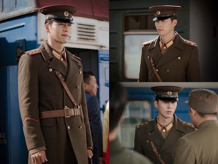 Ảnh teaser của Hyun Bin trong Crash Landing On You.