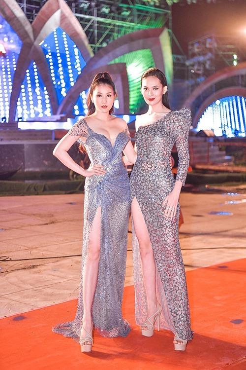 Á hậu Bảo Như đọ sắc cùng người đẹp Sang Lê.