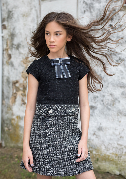 Bông hồng lai 10 tuổi thần thái trên tạp chí thời trang Mỹ - 7