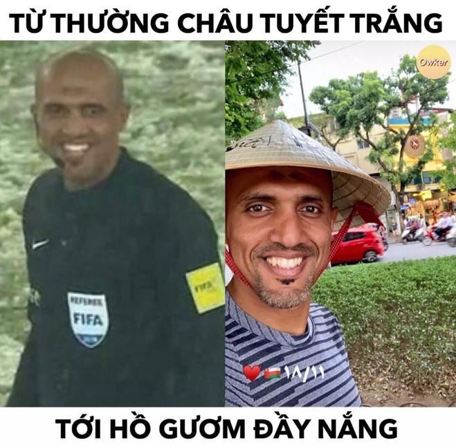 """<p> Ahmed Al-Kaf - người được mệnh danh """"Collina của giới trọng tài châu Á"""" khiến CĐV xứ chùa Vàng """"than trời"""" vì nhiều lần bắt """"mát tay"""" cho tuyển Việt Nam.</p>"""