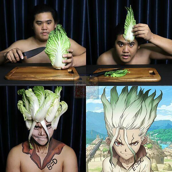 Thêm một cây cải thảo và bạn biến hình!