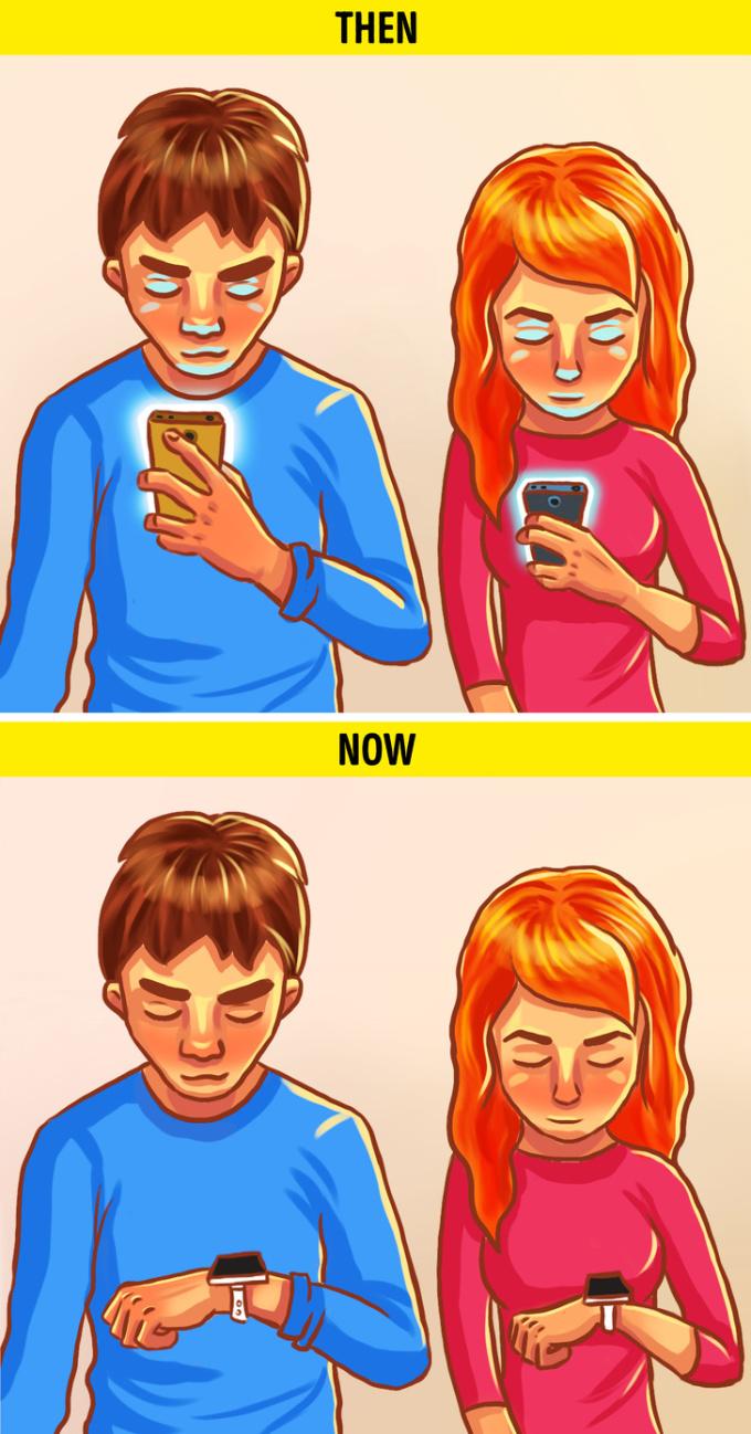 <p> Công nghệ thay đổi, còn con người thì chuyển sự chú ý từ cái này sang cái kia.</p>