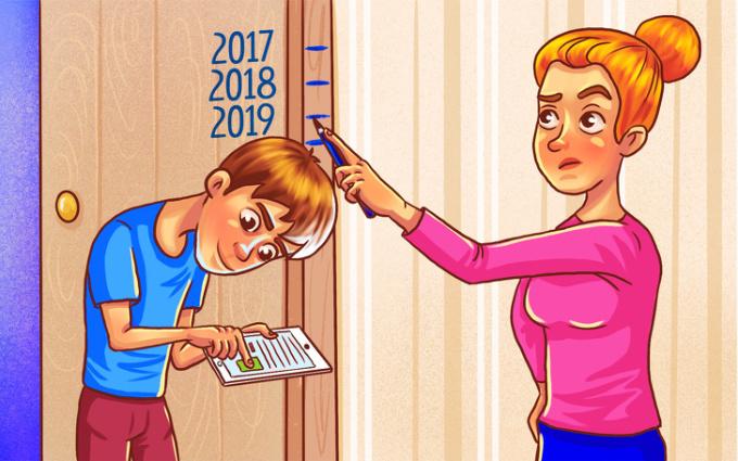 <p> Chiều cao của con người ngày càng thấp do tỷ lệ thuận với sự cúi đầu, cong lưng để nhìn vào điện thoại, máy tính bảng.</p>