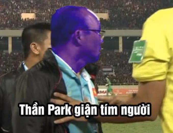 """<p> """"Giận tím người luôn á"""", thầy Park said.</p>"""