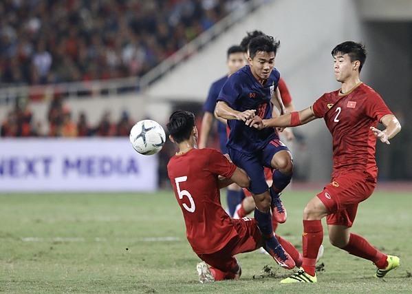 Chanathip có vài tình huống gây nguy hiểm cho Việt Nam nhưng không thể ghi bàn. Ảnh: Ngọc Thành.