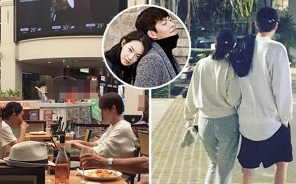 Shin Min Ah luôn bên cạnh chăm sóc Kim Woo Bin.