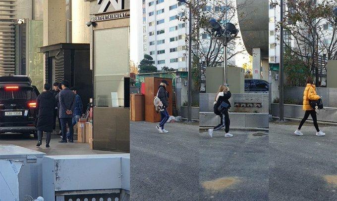 Yang Hyun Suk và các nghệ sĩ YG cùng có mặt ở trụ sở công ty vào chiều 22/11.