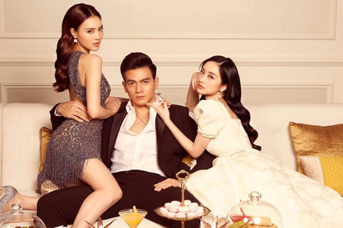 Lê Xuân Tiền băn khoăn lựa chọn giữa hai mỹ nhân Lan Ngọc và Jun Vũ trong bộ phim mới.
