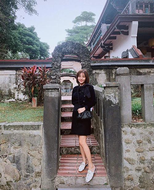 Văn Mai Hương khoe ảnh đi du lịch Đài Loan.