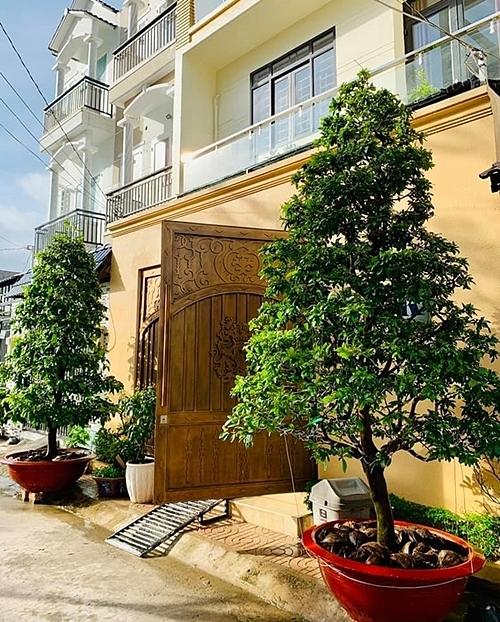 Căn nhà vợ chồng Hải Băng - Thành Đạt sống hiện tại.