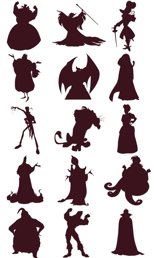 Nhìn bóng đoán nhân vật Disney (3) - 1