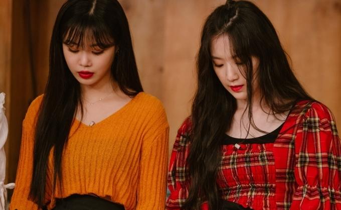 <p> Soo Jin và Shu Hua.</p>