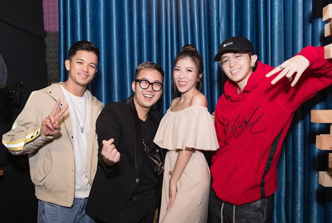 NTK Chung Thanh Phong chọn ba ca sĩ tham gia vào show diễn vào ngày 3/12 tới.