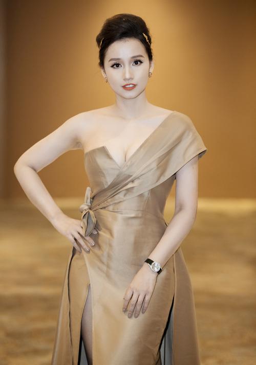 Diễn viên Lã Thanh Huyền được công bố là đại sứ thương hiệu cho một sản phẩm mới.