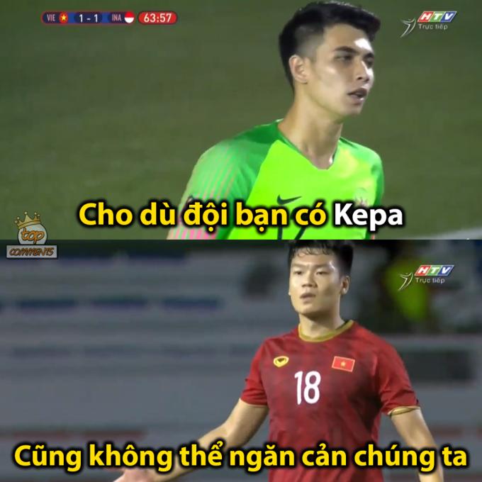 """<p> 19h ngày 1/12, Việt Nam gặp Indonesia tại lượt thứ 3 môn bóng đá nam SEA Games 30. U22 Việt Nam <a href=""""https://ione.net/photo/nhip-song/tien-dung-hlv-park-bi-che-anh-trong-the-tran-kho-nhan-4020589.html"""" rel=""""nofollow"""">bị dẫn trước</a> ở phút thứ 23 do sai lầm của thủ môn Bùi Tiến Dũng. Tuy nhiên, thế trận đã thay đổi ở hiệp hai khi trung vệ Nguyễn Thành Chung gỡ hòa 1-1 ở phút 64. Bàn thắng này khiến tuyển Việt Nam chơi hưng phấn ở những phút sau đó.</p>"""