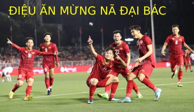 <p> U22 Indonesia dẫn trước U22 Việt Nam nhờ pha mở tỷ số của Rizki Fauzi. Thế nhưng, đoàn quân HLV Park Hang-seo bất ngờ lội ngược dòng ấn định chiến thắng 2-1 nhờ công của Thành Chung và Hoàng Đức. Điều này khiến những màn ăn mừng càng trở nên đầy ý nghĩa.</p>