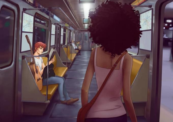 <p> Tình yêu có thể bắt đầu từ những điều không ngờ đến, như là khoảnh khắc chạm mặt ở trên tàu điện ngầm...</p>