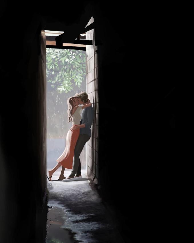 <p> Yêu là những phút giây bỏ quên tất thảy để đắm chìm trong thế giới chỉ có hai người.</p>