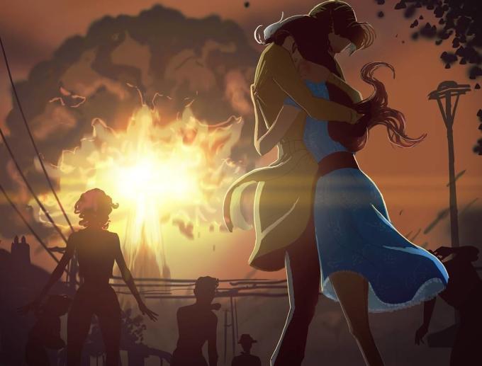"""<p> Yêu là cảm giác được ai đó quan tâm, che chở. Là mỗi khi sợ hãi có ai đó ở bên và nói: """"Không sao đâu có anh đây rồi"""".</p>"""
