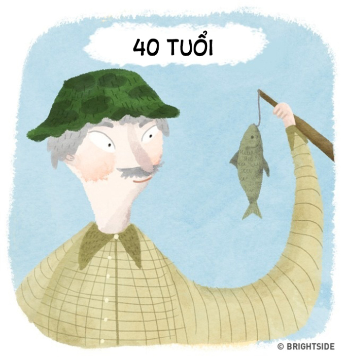 <p> Đến khi có tuổi lại mê những thú vui vận động nhẹ nhàng như câu cá, chăm sóc cây cảnh...</p>