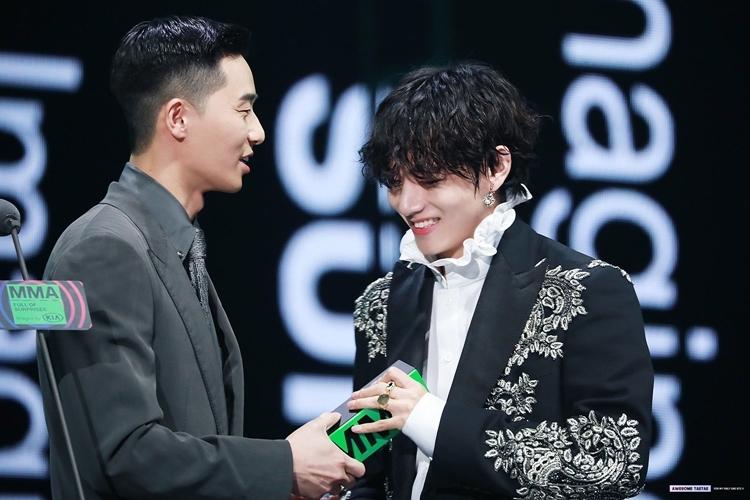 Park Seo Joon và V.
