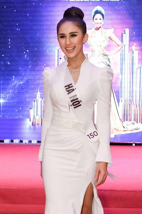 Nguyễn Diana từng chiến thắng hai tập truyền hình thực tế Hoa hậu Hoàn vũ Việt Nam.