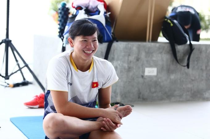 <p> Sáng 2/12, Ánh Viên cùng HLV Đặng Anh Tuấn tới bể bơi ở Cung thể thao dưới nước nằm trong tổ hợp New Clark City Sports Hub để tập luyện, chuẩn bị bước vào thi đấu ở SEA Games 30.</p>