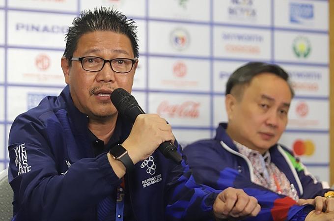 Trưởng ban tổ chức SEA Games ở Philippines, ông Ramon Suzara. Ảnh: Tribu News.