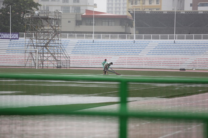 Sân bay Manila đóng cửa, một số nội dung SEA Games bị hoãn  vì bão  - 1