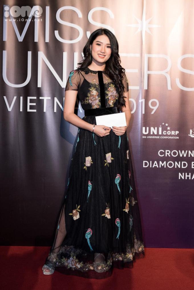 <p> Người đẹp Lại Quỳnh Giang - Top 45 Hoa hậu Hoàn vũ Việt Nam 2017 - góp mặt trong sự kiện.</p>