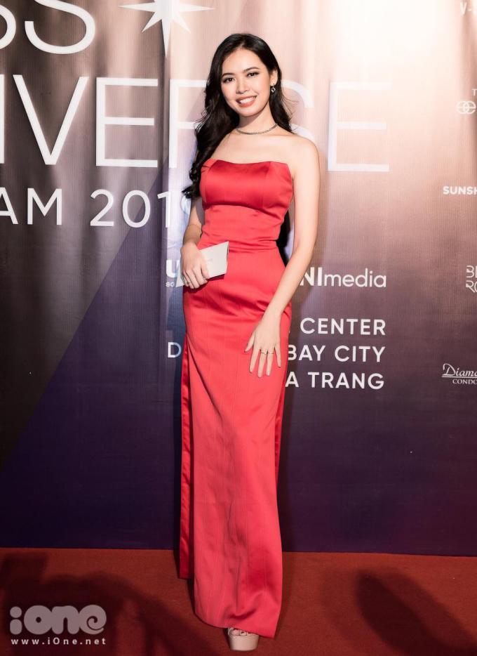<p> Top 5 Hoa hậu Hoàn vũ Việt Nam 2017 Bùi Thanh Hằng.</p>