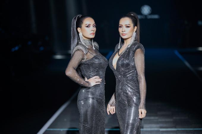 """<p> Thúy Hằng - Thúy Hạnh thuộc lứa """"siêu mẫu"""" đầu tiên của Việt Nam, đắt show bậc nhất các sàn diễn những năm 90. Sau hơn 25 năm vào nghề, cặp chân dài sinh đôi hiếm hoi của làng mốt Việt vẫn giữ được thần thái kiêu sa trên sàn diễn.</p>"""