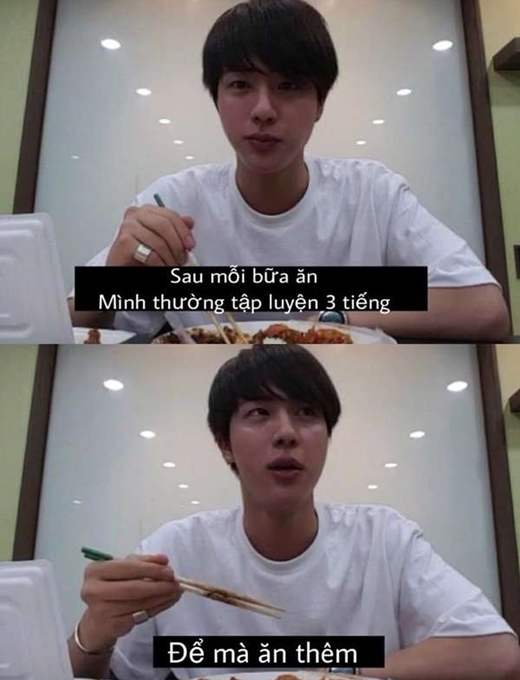 Điểm danh loạt phát ngôn tấu hài cực mạnh của Jin (BTS) - 5
