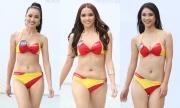Thí sinh Hoa hậu Hoàn vũ VN lộ nhược điểm hình thể