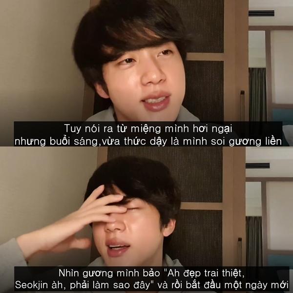 Điểm danh loạt phát ngôn tấu hài cực mạnh của Jin (BTS)