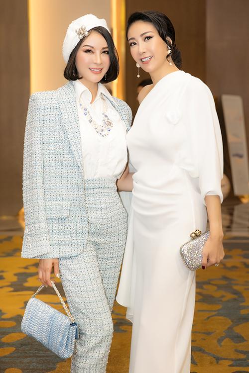 Hoa hậu Hà Kiều Anh cũng góp mặt dự event.