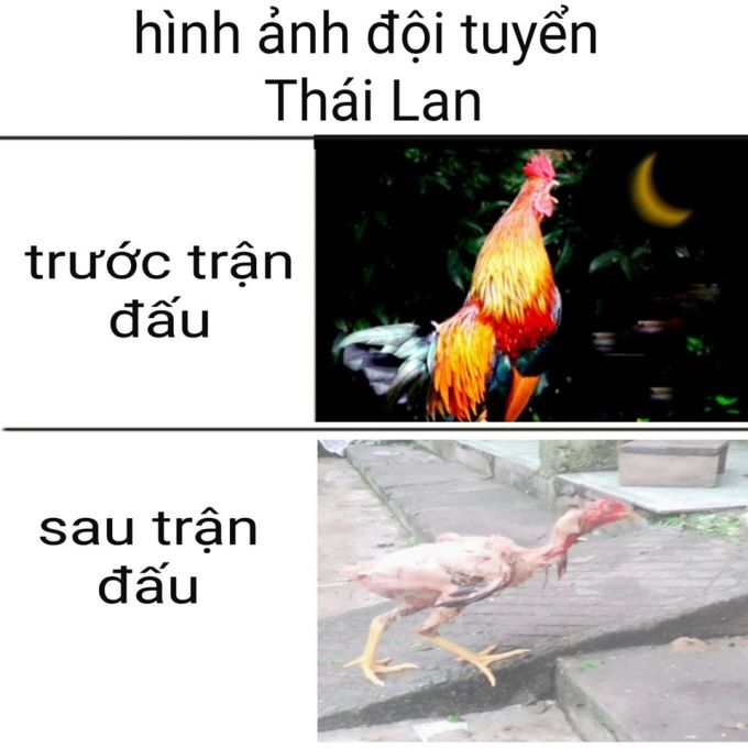 <p> Hình ảnh của Thái Lan hiệp 1 và hiệp 2.</p>
