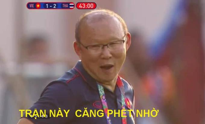 """<p> Thầy Park: """"Chưa có trận nào căng như hôm nay"""".</p>"""